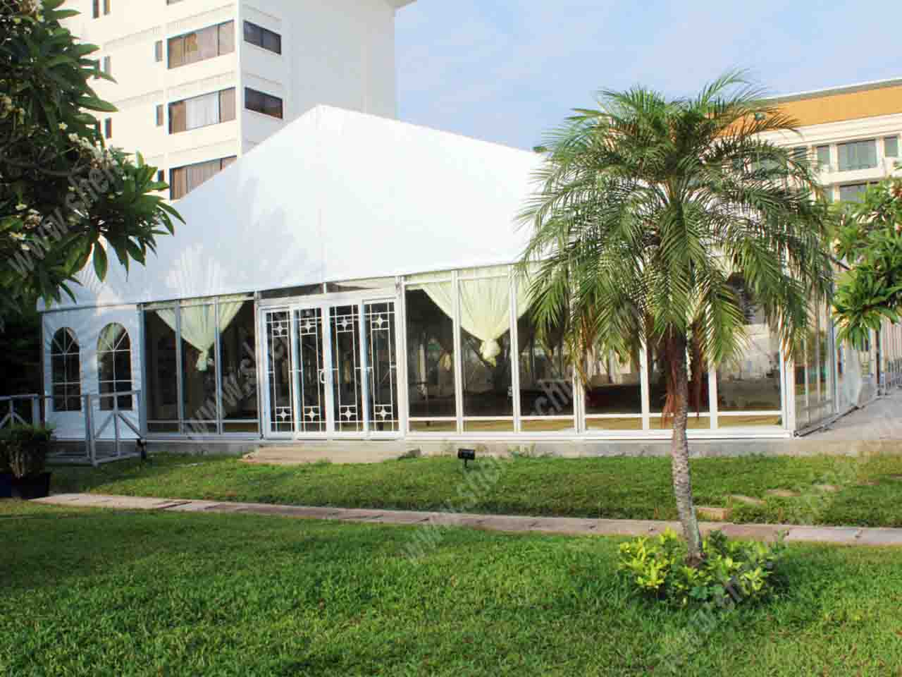 Used Wedding Party Clear Marquee for Rentals