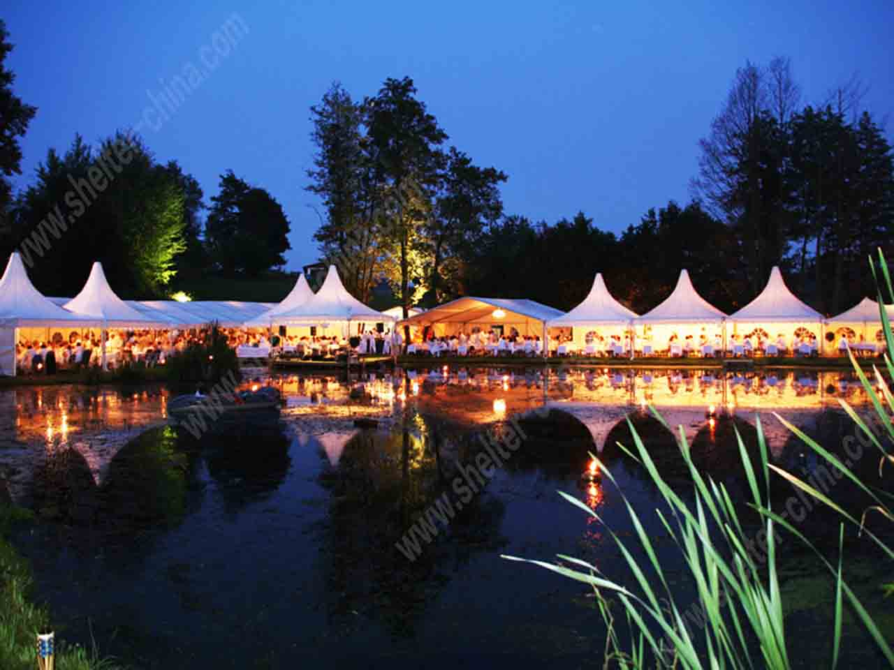 Pagoda Garden Tent Hire for Parties