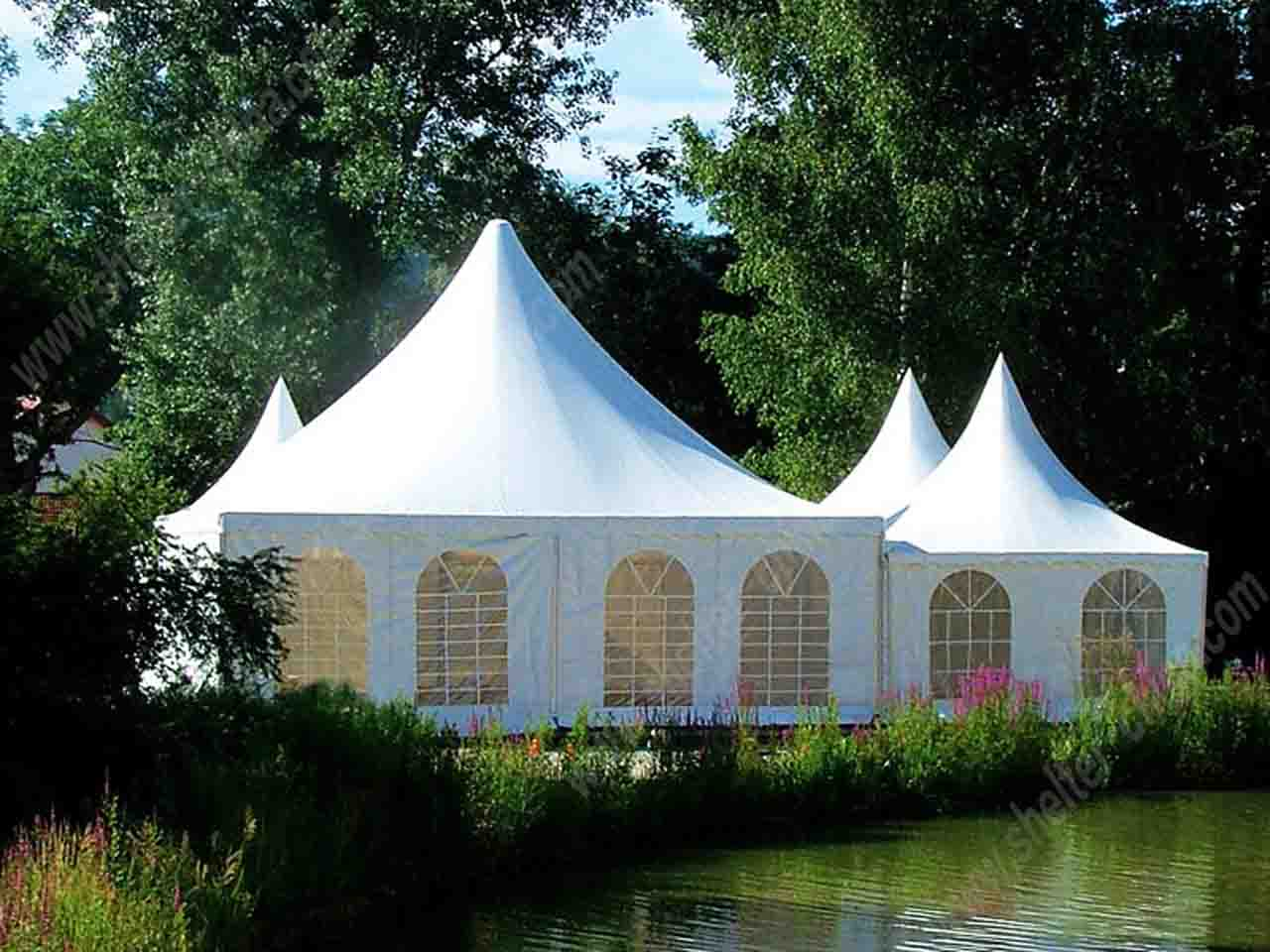 Pagoda Garden Tent Wedding Party Marquee for Sale