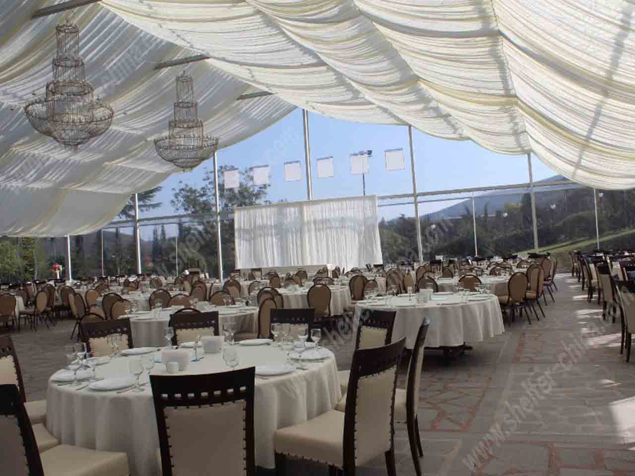 Royal Clear Top Wedding Party Tent For Sale