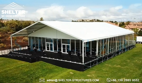large outdoor exhibition wedding party event tent giant marquee